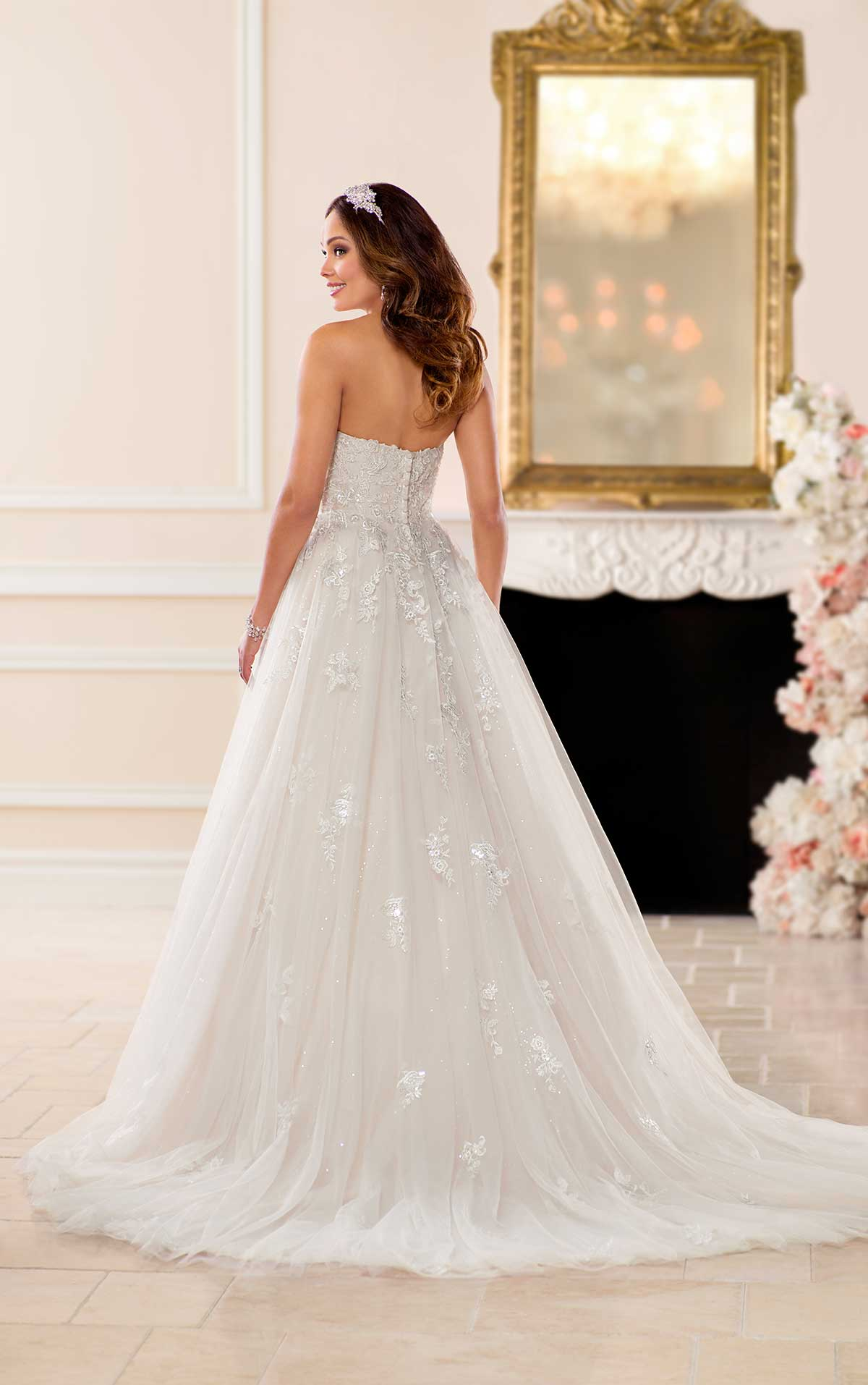 6690 plus size wedding dresses