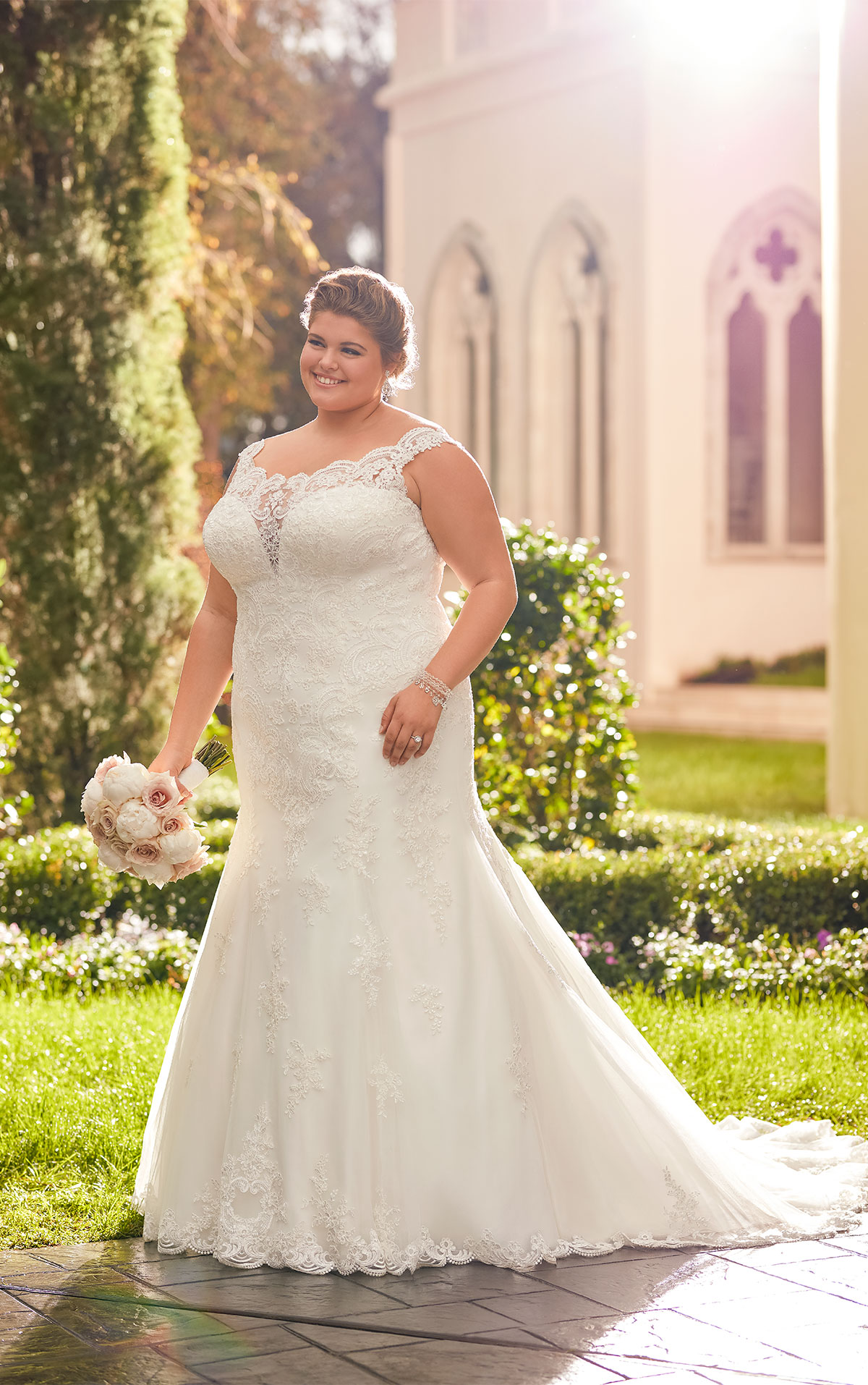 6569 plus size wedding dresses