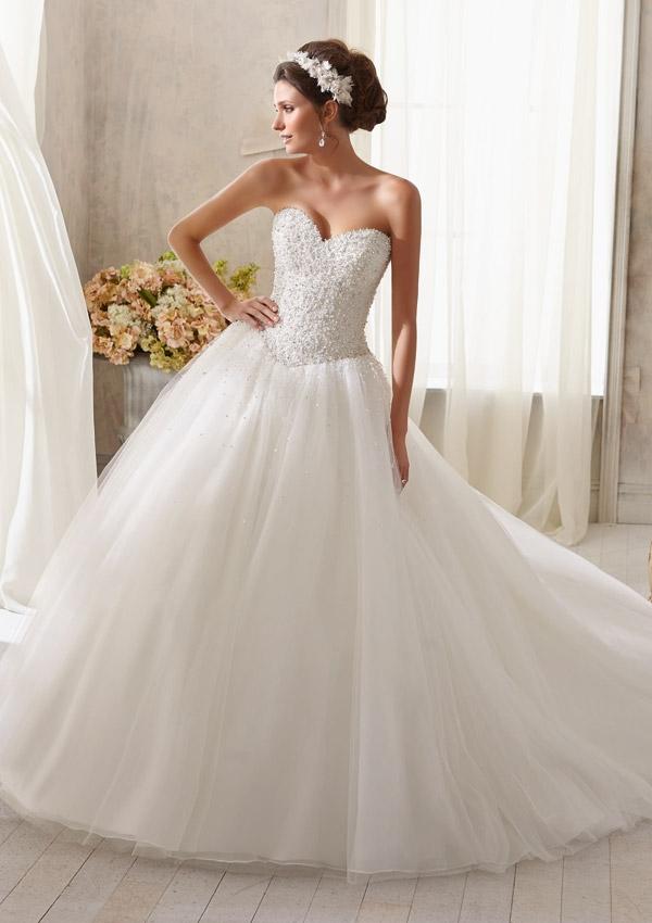 0f6de683783a Mori Lee Wedding Dresses - Bridal