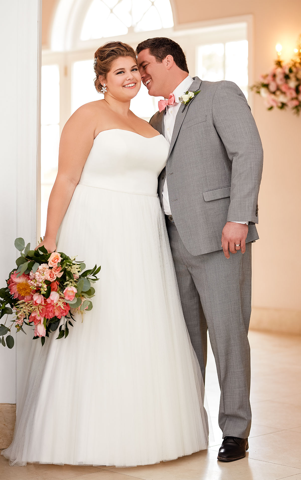 6594 plus size wedding dresses