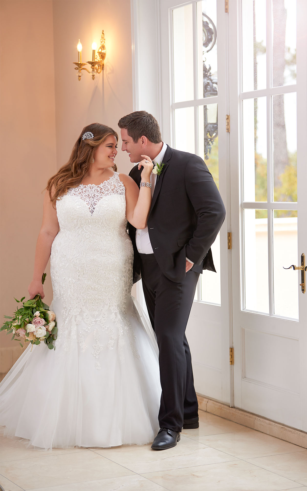 6600 plus size wedding dresses