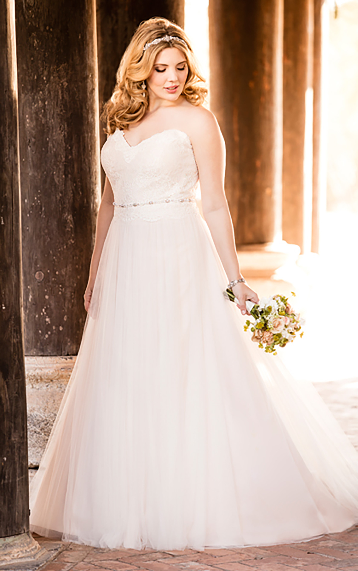 6025 plus size wedding dresses