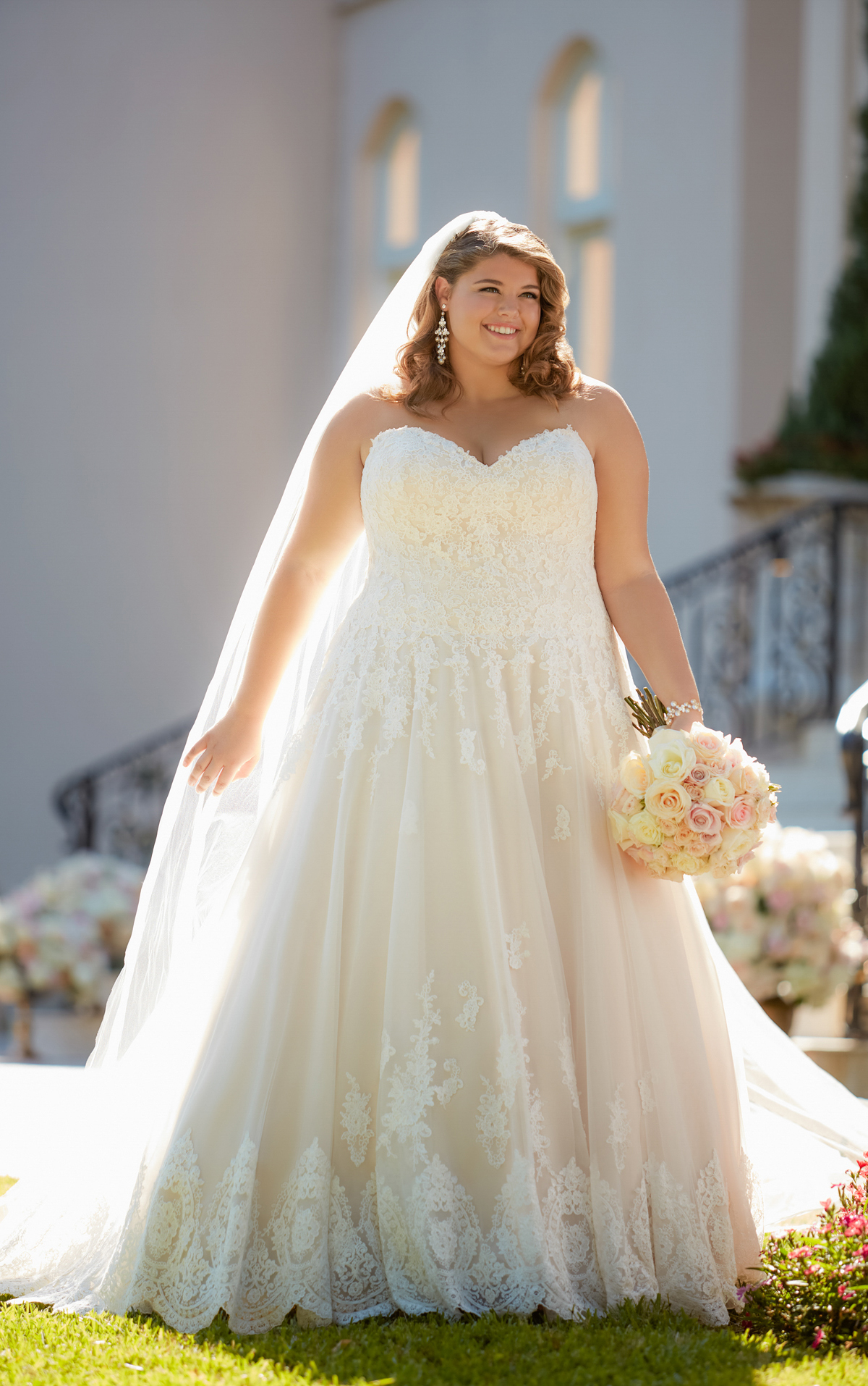 6385 plus size wedding dresses