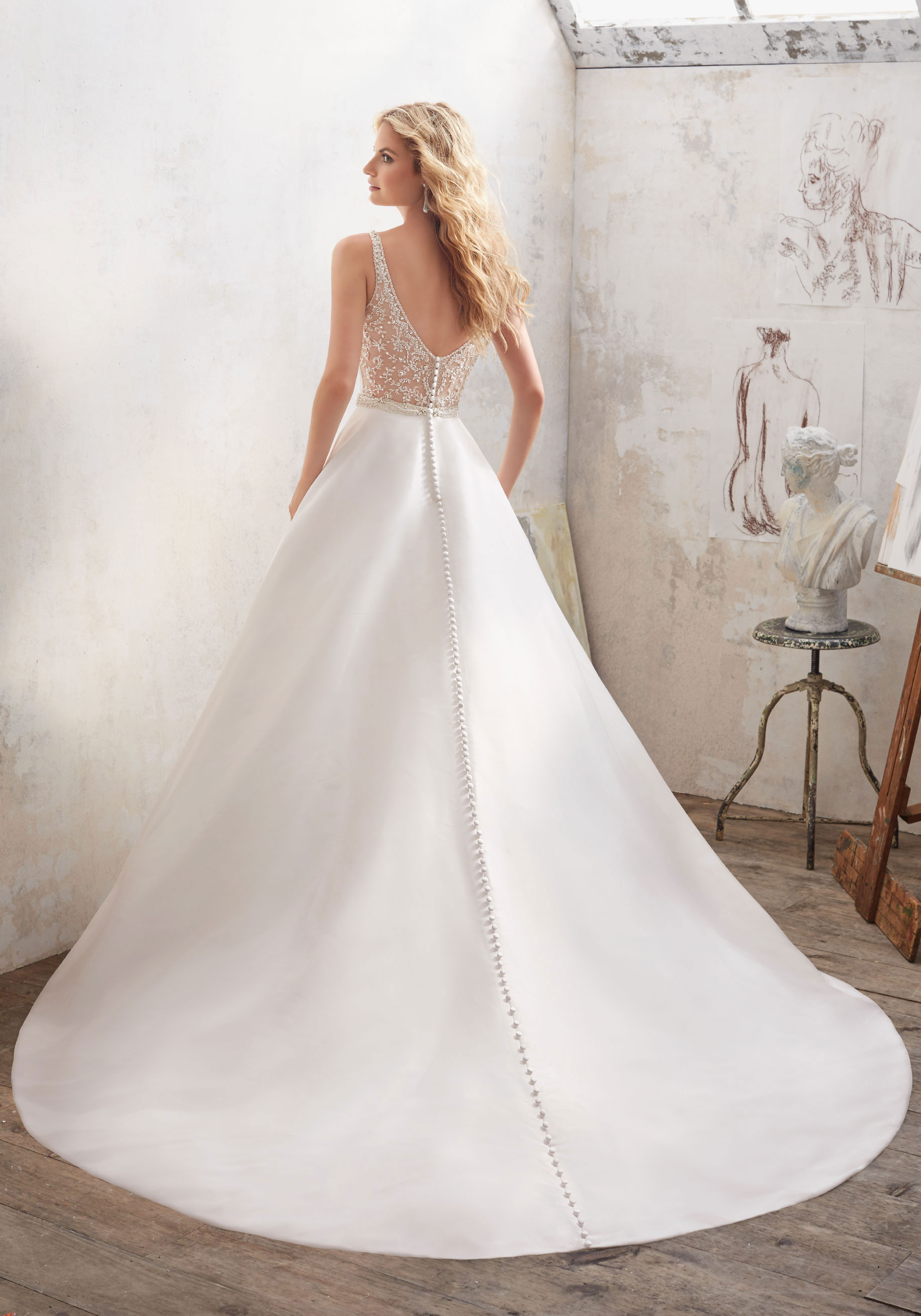 8123 Mori Lee at Aurora Bride