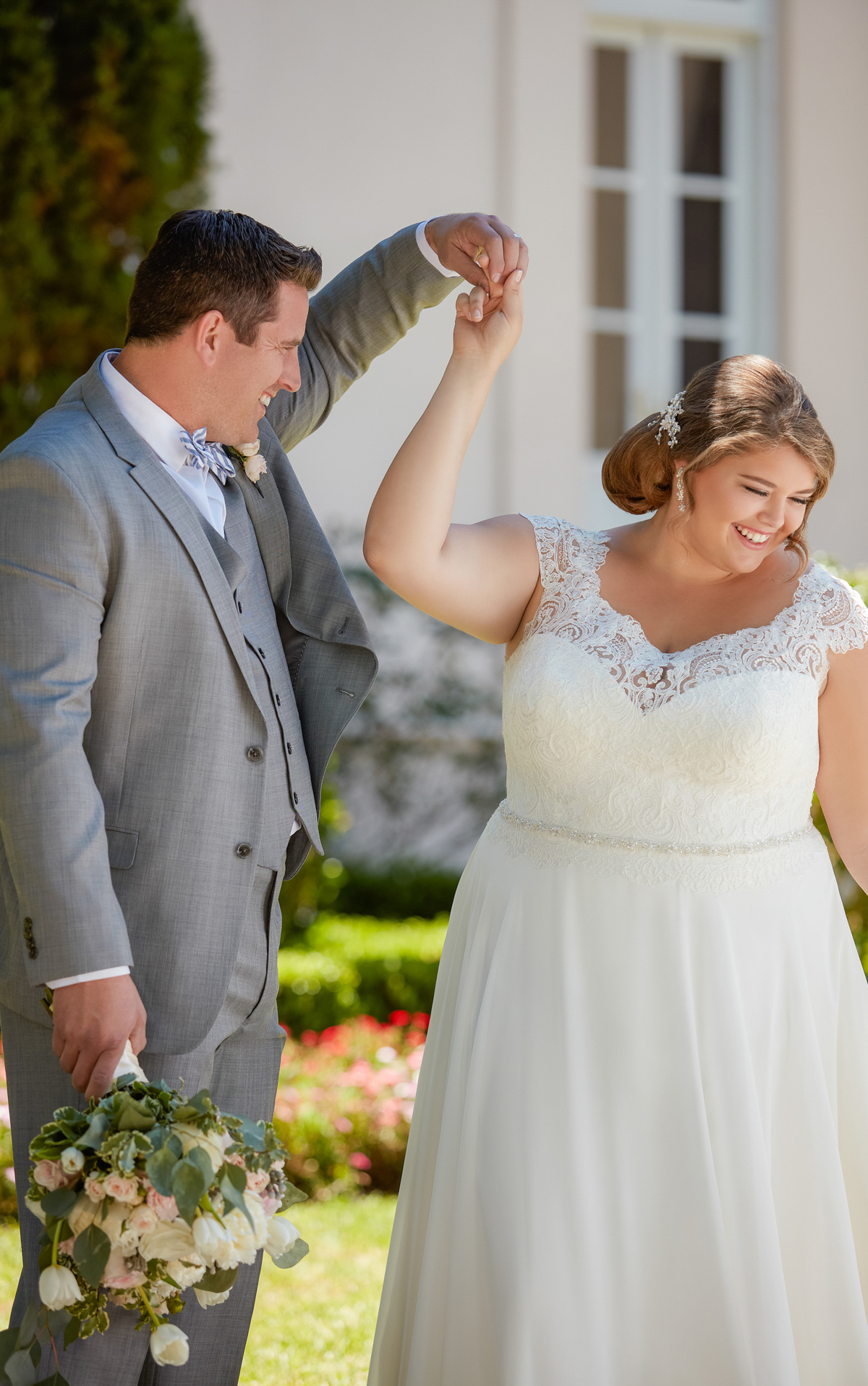 6365 plus size wedding dresses