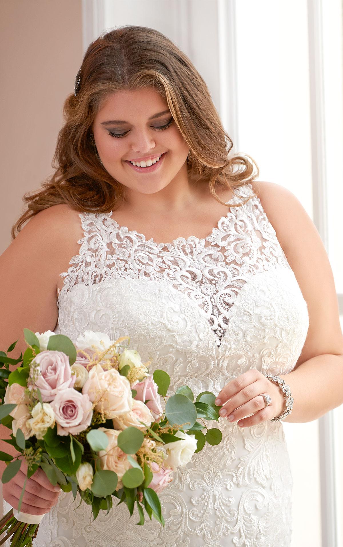 6600 plus size wedding dresses