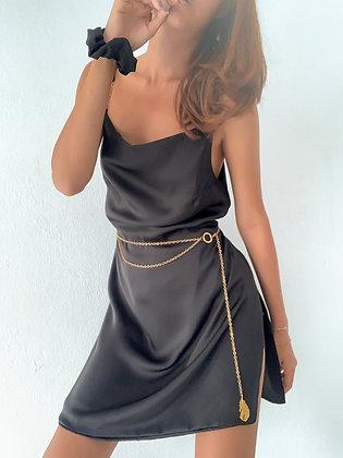 Cowl camisole dress set