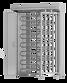 Angetriebenes Drehkreuz ECCO 120, 3 Flügel, seitliche Box