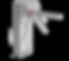Motorisch angetriebene Einzeldrehsperre Compact, 2-Arm oder 3-Arm Variante, Gehäuse beschichet oder aus Edelstahl