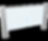 Angetriebene Schwenktür Ikarus Transpa, Türflügel aus Glas, Behindertendurchgang
