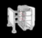 Motorisch angetriebene Einzel- oder Doppeldrehkreuze VARIO in den Höhen 1100, 1300 oder 2100 mm, Gehäuse aus Edelstahl. Vertikaldrehkreuze GYRO Transpa, Baden oder Holm, hüfthoch, mit Flügeln aus Glas, Acryl oder Holmen. Mannshohes Drehkreuz Forum mit 120° Aufteilung und Sperrflügel aus Acryl. Personenvereinzelung für Schwimmbäder, Toiletten, Freizeiteinrichtungen, Gewerbe, Stadion, Industrie, den Werkschutz und öffentliche Einrichtungen. Bezahlter Eintritt für öffentliche Toiletten und in der Gastronomie. Alternative zu Drehsperren, Portaldrehkreuzen und Personenschleusen.