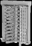 Motorisch angetriebene mannshohe Einzel- oder Doppeldrehkreuze ECCO, ECCO Light, ECCO Olympia und Arena, Kombiblock, ECCO 120 BF + BFB + BFT.  Aufteilung der Flügel 90°, 120° oder 180°. Die Anlagen sind Beschichtet oder aus Edelstahl. Wahlweise mit Halterungen oder Boxen für die Zugangskontrolle oder Sprechanlagen. Zugangskontrolle für Werkszugänge, Parkplätze, Gewerbe- und Industriebetriebe, Stadien, Freizeiteinrichtungen, Toiletten und öffentliche Einrichtungen. Drehkreuze mit seitlicher Tür für den barrierefreien Zugang.