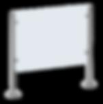 Motorisch angetriebene Einzeldrehsperre CALYPSO, 2-Arm oder 3-Arm Variante, allseitig geschlossenes Gehäuse aus Edelstahl