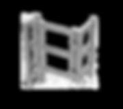Motorisch angetriebene Einzeldrehsperre Modul TONDA, 1-Arm, 2-Arm oder 3-Arm Variante, Gehäuse aus Edelstahl, Standfüße abgerundet