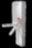 Motorisch angetriebene Doppeldrehsperre Modul CROSS, 1-Arm, 2-Arm oder 3-Arm Variante, Gehäuse aus Edelstahl
