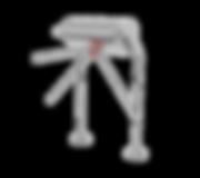 Motorisch angetriebene Einzeldrehsperre Berchtesgaden, 2-Arm oder 3-Arm Variante, Gehäuse aus Edelstahl