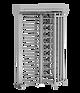 Angetriebenes Drehkreuz ECCO 180°, Drehsperre, Vereinzelung