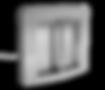 Motorisch angetriebenes Einzeldrehkreuz ECCO 120, 3 Flügel mit einer 120° Aufteilung, Mannshoch, Beschichtet oder aus Edelstahl, mit seitlicher Schleuse für Fahrradfahrer oder Rollstuhlfahrer, Barrierefrei, Drehkreuz für die Personenvereinzelung, Alternative zu Drehsperren, Zugangskontrolle für Schwimmbäder, Freizeiteinrichtungen, Öffentliche Einrichtungen, Versorgungseinrichtungen, Gewerbe, Stadien, Toiletten, Gewerbe, Industrie, Werkschutz, Optional mit Standsäulen für die Zugangskontrolle und Sprechanlagen