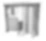 Motorisches Drehkreuz ECCO 120, Barrierefrei, Fahrradschleuse