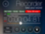 Screenshot of the recorder module of reSonare