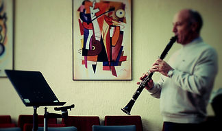 Clarinet recording made with reSonare