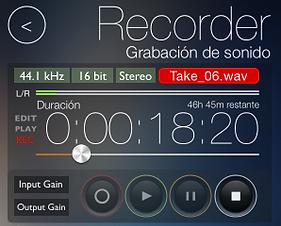 Captura de la grabadora de reSonare