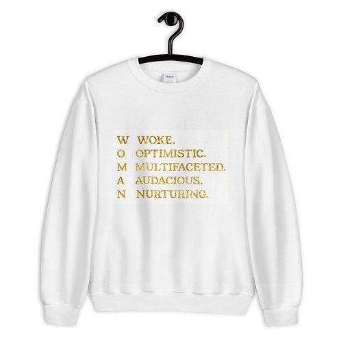 """""""WOMAN"""" Unisex Sweatshirt"""