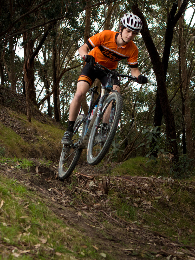 Mountainbiking Whataupoko Reserve