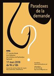 Paradoxe de la demande, FIPA, 17 mars 20