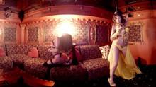 Вечер в стриптиз клубе в компании приятных девушек (видео-360 | 18+).