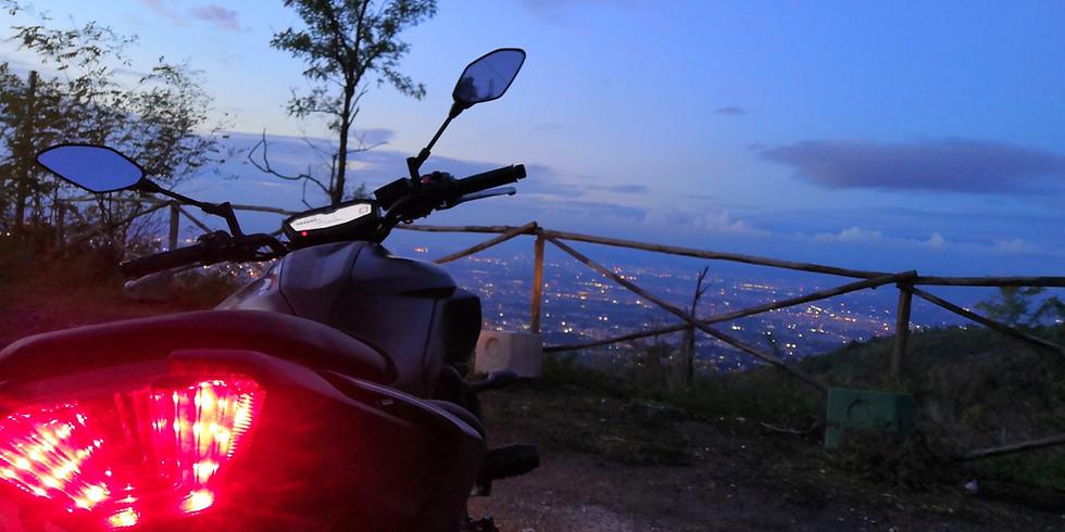 Corso di guida sicura Moto sul Vesuvio