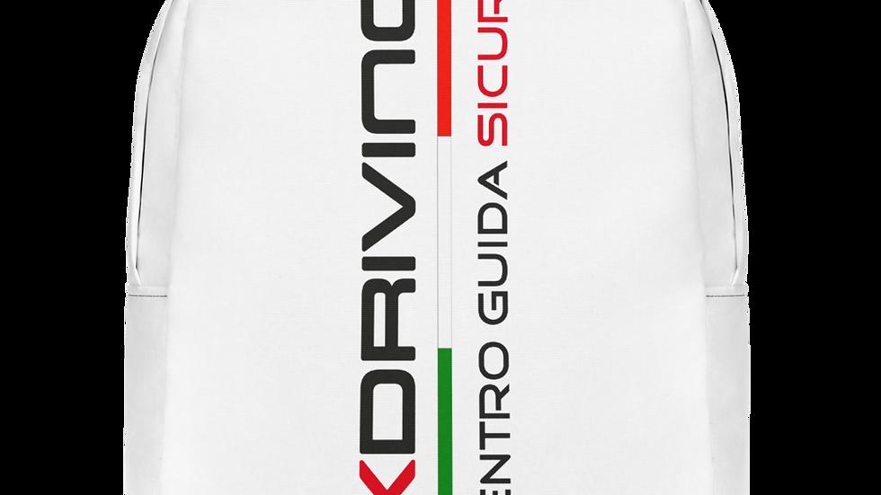 Zaino Moto | Ufficio - Logo KDriving