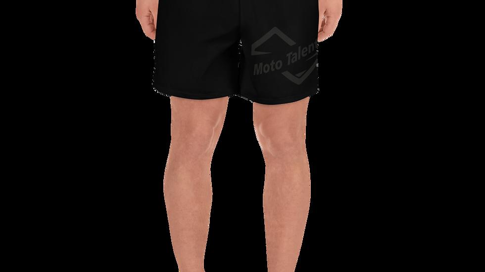Shorts Neri Sport | Logo Moto Talent Nero
