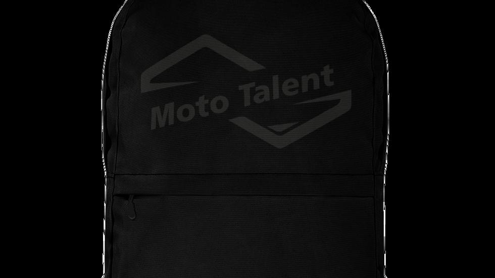 Zaino Ufficio + Nero | Logo Moto Talent Nero
