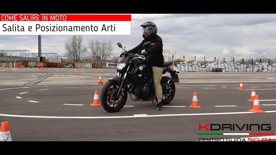 Corso di Guida Moto Online | La Posizione di Guida | Impara da Zero