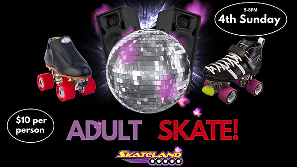Copy of Skating Party - Made with Poster
