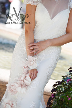 Paula Varsalona for the Bride