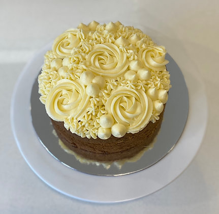Piped Carrot Cake