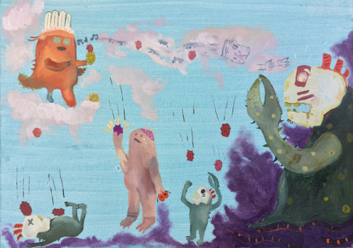 Prickly Pears of Justice (detail)