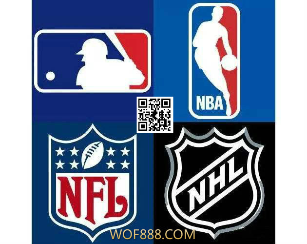 MLB、NBA、NHL、NFL