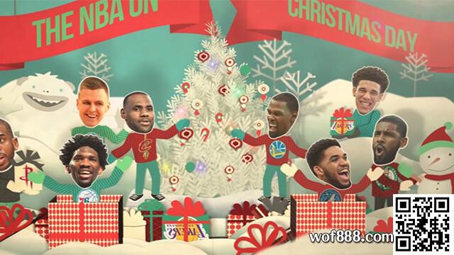 玩運彩報馬仔│5場NBA聖誕大戰已揭曉,今晚誰能勝出?您知道多少呢?