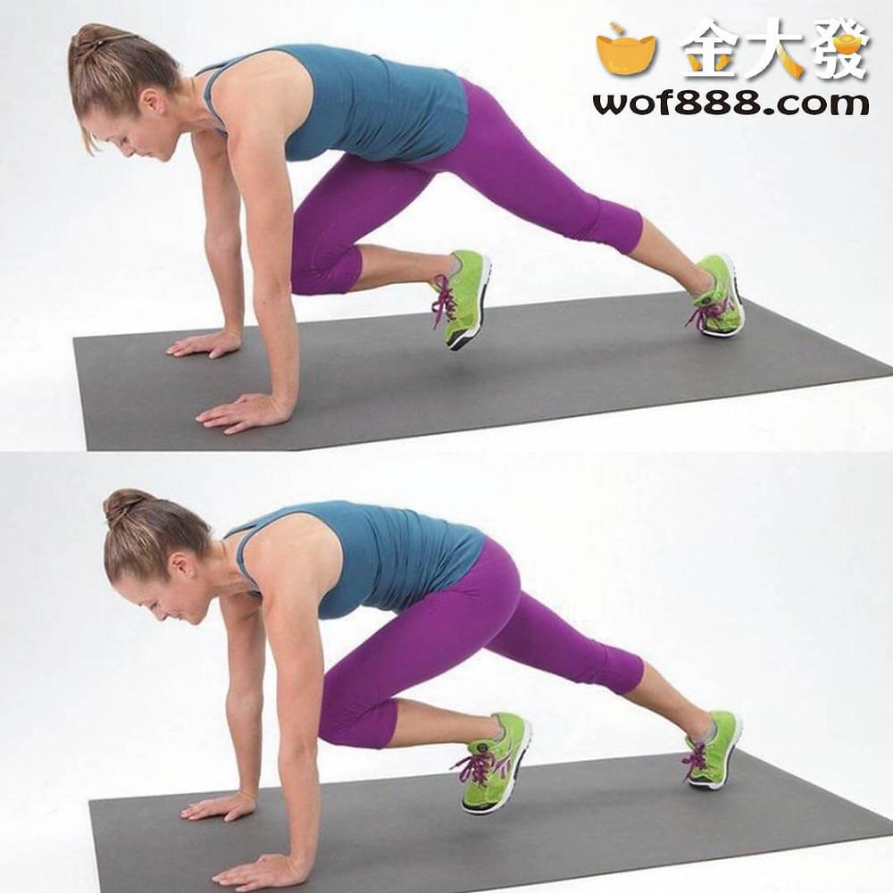 登山者式瘦肚子、健身進階版、消耗熱量、控制飲食、健身初學者
