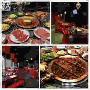 台北麻辣45用餐示意圖