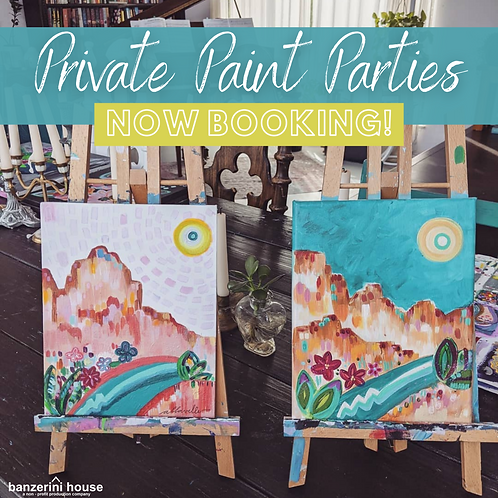 Private Paint Parties