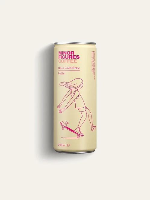 Minor Figures Nitro Cold Brew - Latte (200ml)