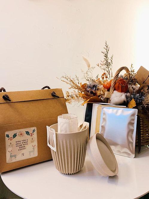 ARRO Xmas Box (1x HuskeeCup + 5x Drip Coffee Bags)