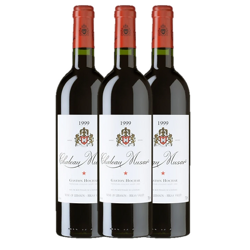 Chateau Musar 1998 (3 bottles)