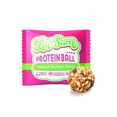 Luv Sum Peanut Butter Berry Ball