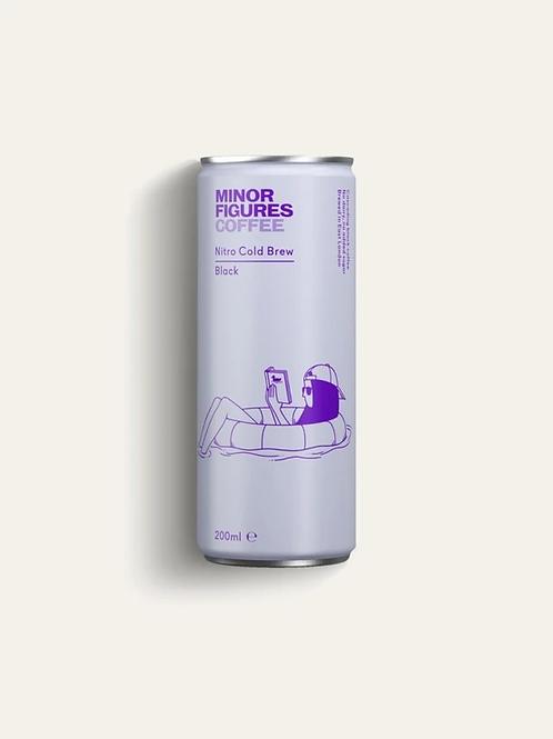 Minor Figures Nitro Cold Brew - Black (200ml)