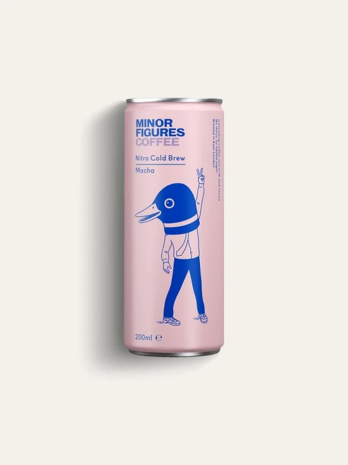 Minor Figures Nitro Cold Brew - Mocha (200ml)